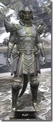 Ancient Elf Iron - Argonian Male Front
