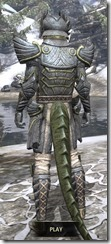 Ancient Elf Iron - Argonian Male Rear