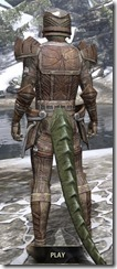 Ancient Elf Rawhide - Argonian Male Rear
