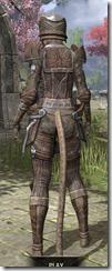 Ancient Elf Rawhide - Khajiit Female Rear