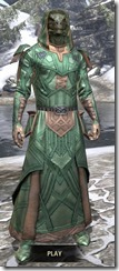Ancient Orc Homespun - Argonian Male Robe Front
