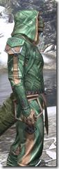 Ancient Orc Homespun - Argonian Male Shirt Close Side
