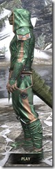 Ancient Orc Homespun - Argonian Male Shirt Side