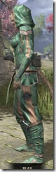 Ancient Orc Homespun - Khajiit Female Shirt Side