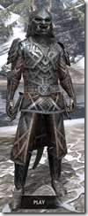 Ancient Orc Iron - Argonian Male Front