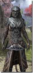 Ancient Orc Iron - Khajiit Female Close Front