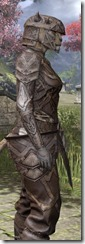 Ancient Orc Rawhide - Khajiit Female Close Side