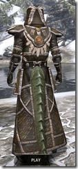 Argonian Cotton - Argonian Male Robe Rear