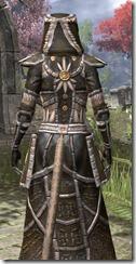 Argonian Cotton - Khajiit Female Robe Close Rear