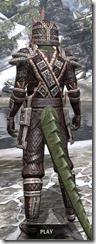 Argonian Full-Leather - Argonian Male Rear