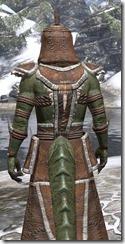 Argonian Homespun - Argonian Male Robe Close Rear