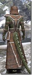 Argonian Homespun - Argonian Male Robe Rear