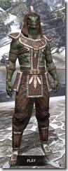 Argonian Homespun - Argonian Male Shirt Front