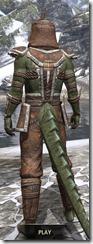 Argonian Homespun - Argonian Male Shirt Rear