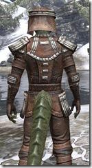 Argonian Iron - Argonian Male Close Rear