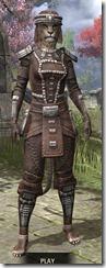 Argonian Iron - Khajiit Female Front