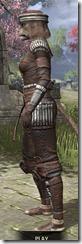 Argonian Iron - Khajiit Female Side