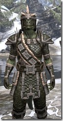 Argonian Leather - Argonian Male Close Front