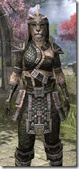 Argonian Leather - Khajiit Female Close Front