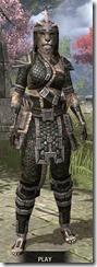 Argonian Leather - Khajiit Female Front