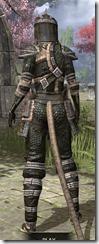Argonian Leather - Khajiit Female Rear