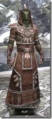 Argonian Linen - Argonian Male Robe Front