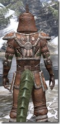 Argonian Linen - Argonian Male Shirt Close Rear