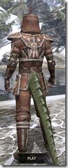 Argonian Linen - Argonian Male Shirt Rear