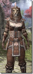 Argonian Linen - Khajiit Female Shirt Close Front