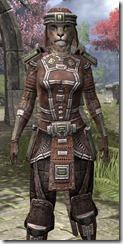 Argonian Steel - Khajiit Female Close Front