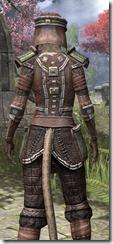 Argonian Steel - Khajiit Female Close Rear