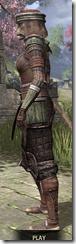 Argonian Steel - Khajiit Female Side