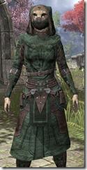 Assassins League Homespun - Khajiit Female Robe Close Front
