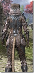 Assassins League Iron - Khajiit Female Close Rear