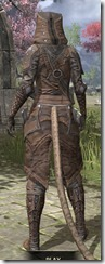 Assassins League Rawhide - Khajiit Female Rear