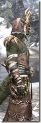 Barbaric Homespun - Argonian Male Robe Close Side