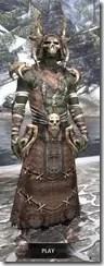 Barbaric Homespun - Argonian Male Robe Front