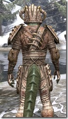 Barbaric Iron - Argonian Male Close Rear