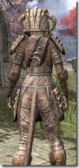 Barbaric Iron - Khajiit Female Close Rear
