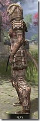 Barbaric Iron - Khajiit Female Side
