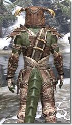 Barbaric Rawhide - Argonian Male Close Rear