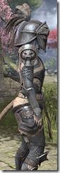 Daggerfall Covenant Iron - Khajiit Female Close Side