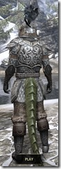 Daggerfall Covenant Rawhide - Argonian Male Rear