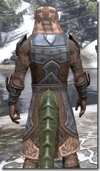 Dark Brotherhood Iron - Argonian Male Close Rear
