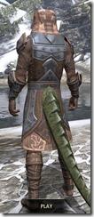 Dark Brotherhood Iron - Argonian Male Rear