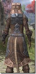 Dark Brotherhood Iron - Khajiit Female Close Rear