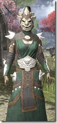 Anequina Homespun - Khajiit Female Robe Close Front