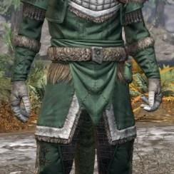 Icereach Coven Homespun - Argonian Male Shirt Front