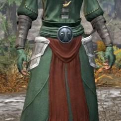 Pyre Watch Homespun - Female Robe Front