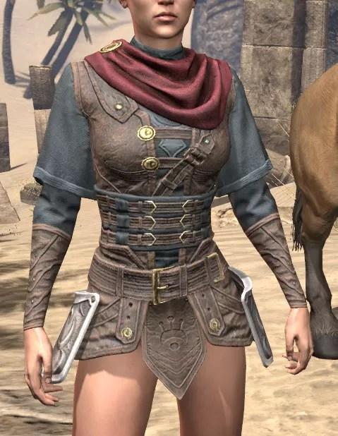 Shield of Senchal Rawhide Jack - Female Front